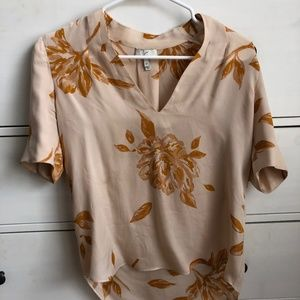 Pink and Orange Joie Blouse